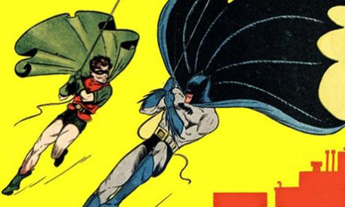 El Batman de papel