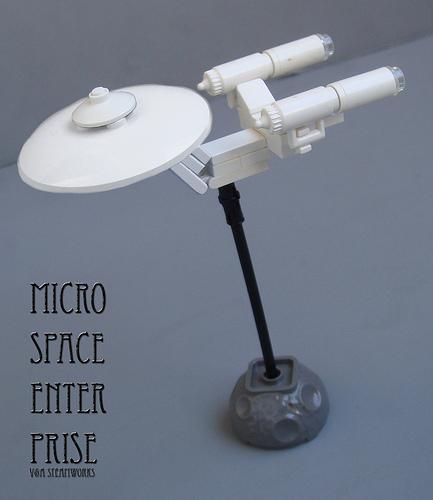Microspace Enterprise by V&A Steamworks - Star Trek