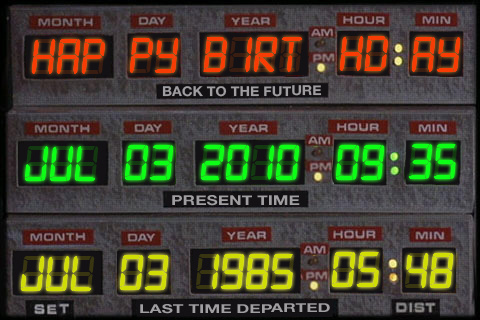 Back To The Future - 25th Anniversary