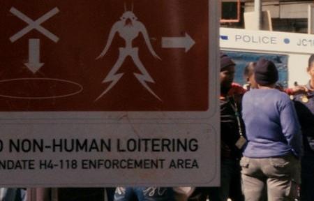 El Distrito 9 está lleno de aliens